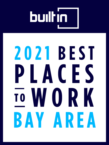 Image: Big Health was recognized as a 2021 Best Places to Work in the Bay Area by BuiltInSF.com