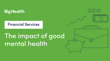 Cost of mental health financial services